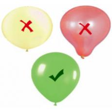 Ako správne nafúkať a uviazať latexové balóny