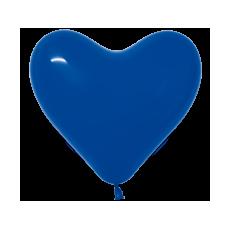 Balón srdce Modré 340 12´´- 31cm
