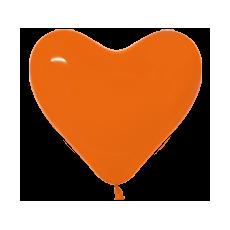 Balón srdce Oranžové 361