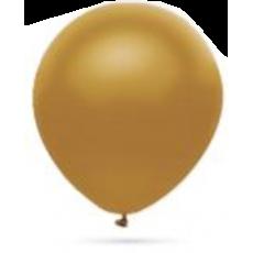 Balón metalický Zlatý 32cm