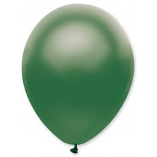 Balón 11´´ met. Zelená tm. s314 S11 - 28 cm