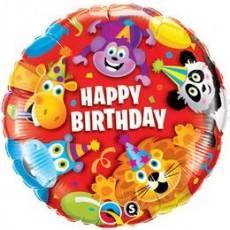 Balón BDay Party Animals Q