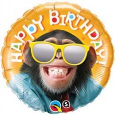 Balón BDay Smilin Chimp Q
