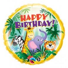 Balón BDay Jungle Friends Q