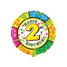 Balón číslo kruh 2