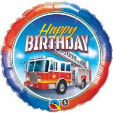 Balón BDay Fire Truck Q