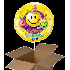 Fóliové balóny 1 ks z krabice