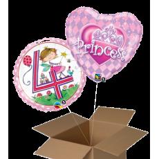 Fóliové balóny 2 ks z krabice