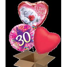 Fóliové balóny 3 ks z krabice