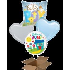Fóliové balóny 4 ks z krabice