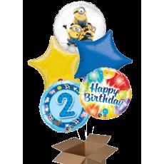 Fóliové balóny 5 ks z krabice