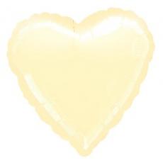 Balón srdce Ivory