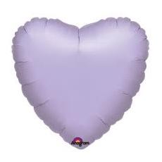 Balón srdce Fialové bl.