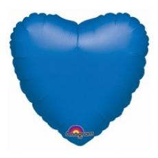 Balón srdce Modré tm.