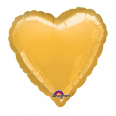Balón srdce Zlaté