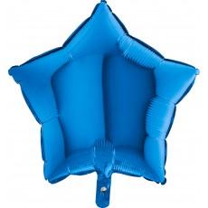 Balón hviezda Modrá