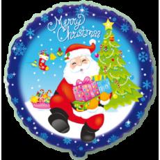 Balón Kruh Santa s darčekmi