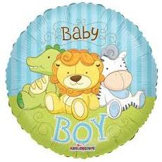 Balón Baby Boy zvieratká