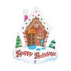 Balón Happy Holidays