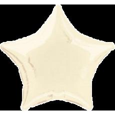 Balón Hviezda Krémová
