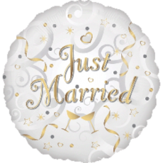 Balón Just Married US