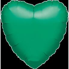 Balón Srdce 45 cm Zelené