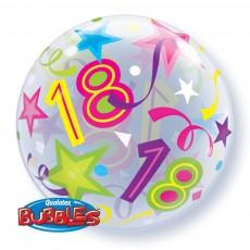 Balón 18 narodeniny 18 Brilliant Stars QB