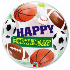 Balón Happy Birthday Šport
