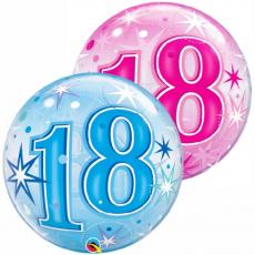 Balón 18. narodeniny bubbles