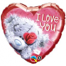 Balón Q Tatty Teddy I Love You