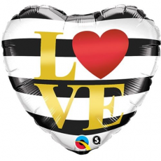 Balón Q Love Horizontal Stripes