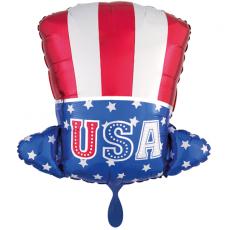 Balón Klobúk USA