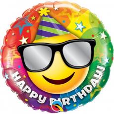Balón Smajlík Happy Birthday / BDay Smile