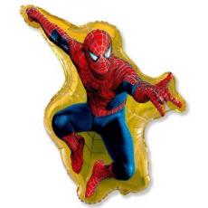 Balón Spiderman US - žltý