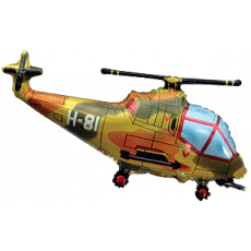 Balón Vrtuľník vojenský