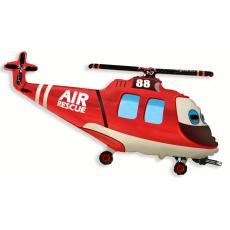 Balón Vrtuľník záchranársky