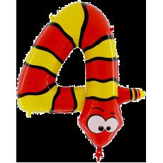 Balón narodeninové číslo 4 Had
