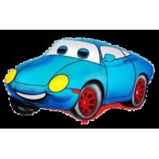 Balón Auto Modré