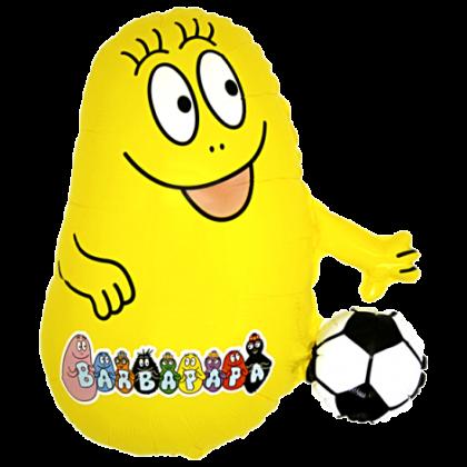 Balón Barbapapa žl.