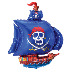 Balón Pirátska loď