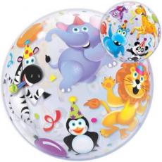 Balón Party Zvieratá Party Animals QB