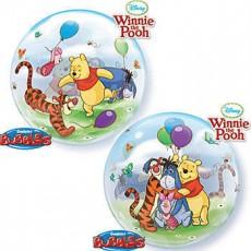 Balón Q Bubbles Winnie The Pooh & Friends