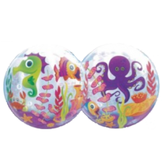 Balón Q Bubbles Fun Sea Creatures