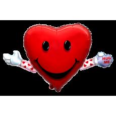 Balón Srdce s rukami
