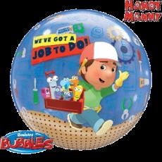 Balón Q Bubbles Handy Manny