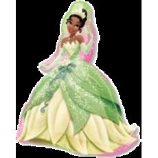 Balón Princezná Tiana