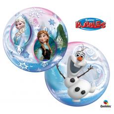 Balón Q Bubbles Frozen