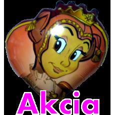 Balón Opičia kráľovná hnedá
