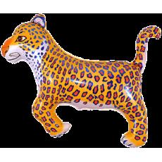 Balón Leopard - čierny