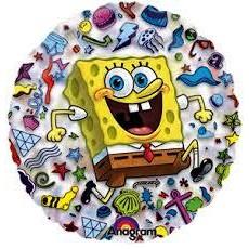 Balón SpongeBob kruh US